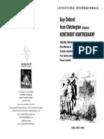 Guy Debord i Ivan Chtcheglov - Kontinent Kontreskarp