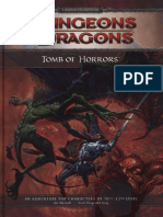 d&d 4e Tomb of Horrors Hardcover