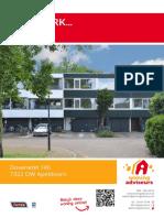 Brochure Dovenetel 146 te Apeldoorn