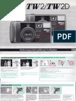 Nikon TW2D Manual