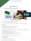 Professional Education Set 1