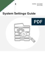 MX2300N 2700N OM System Settings Guide GB