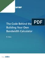 Bandwidthcalculator