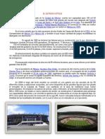 El Estadio Azteca