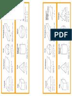 Area Volume Bookmark
