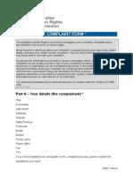 ahrc complaint form  word  1
