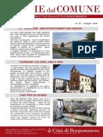 Notizie Dal Comune di Borgomanero del 9 Giugno 2016