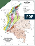 Mapa Preliminar de Terrenos Geologicos de Colombia (1985 Digitalizado)