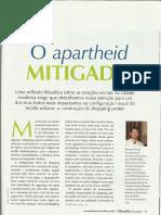 O Apartheid Mitigado
