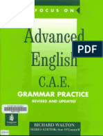 Focus on Advanced English Grammar Practice (1999)-LONGMAN