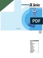 Manual Ohaus DL Series