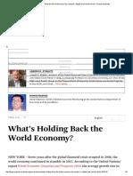 What's Holding Back the World Economy_ by Joseph E.pdf
