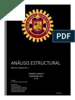 EJERCICIOS RESUELTOS ANÁLISIS ESTRUCTURAL