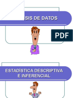 Analisis de Datos Estadisticos