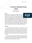 Marriage guidelines