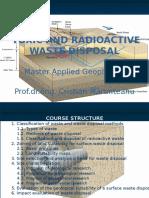 Toxic and Radioactive Waste