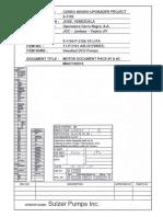 Datos de Motor 1750 HP