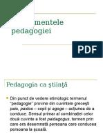 -Fundamentele pedagogiei (1)