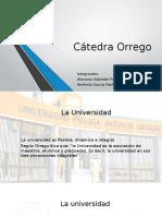 Catedra Orrego