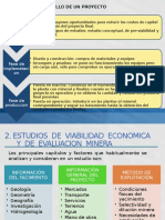 Equipo 1_ Estudios de Viabilidad en El Desarrollo de Los Proyectos Mineros