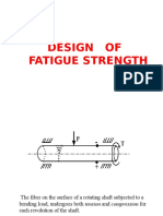 Design of Fatigue Strength