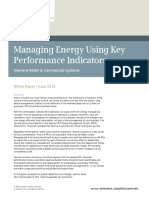 Managing Energy Using Key Performance Indicators - Whitepaper