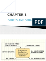 Chapter 1 - Stress and Strain