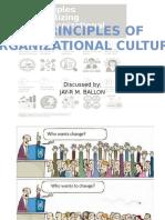 10 Principles of Organizational Culture