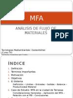 Análisis de Flujo de Materiales (MFA)