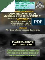 Caracterización de Las Viviendas de La Zona Urbana