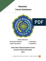 Makalah Oracle Database