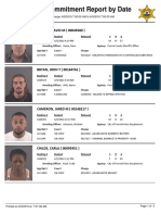 Peoria County Jail Booking Sheet 6/9/2016