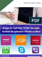 Etude Opération Unlike des Internautes Marocains Contre le Blocage de la VoIP au Maroc - FORCINET