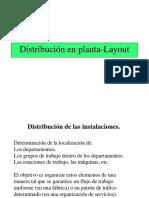 Layout - distribucion de planta