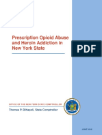 Prescription Opioid  Abuse  and Heroin A ddiction  in  New York  State