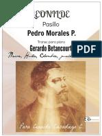 LEONILDE. Pasillo. Pedro Morales P. Transc. piano Gerardo Betancourt.