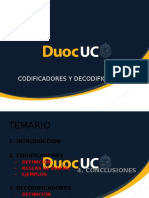 Codificadores y Decodificadores