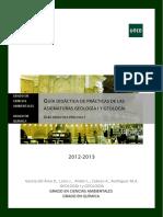UNED - Guía Didáctica Práctica I - Reconocimiento Cristalografico y Mineralogico