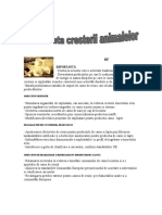 Importanta cresterii animalelor.doc