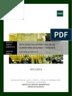 UNED - Guía Didáctica Práctica II - Reconocimiento Petrologico