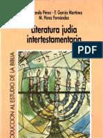 Literatura Judia Intertestamentaria - Aranda Perez, g