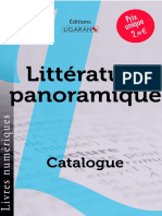 Catalogue Ligaran Epub Littérature panoramique