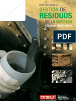 Gestión de Residuos en La Empresa CCOO