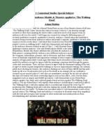 unit 1 contextual studies special subject  fixed