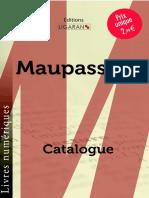 Catalogue Ligaran Epub Maupassant