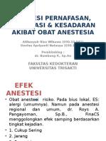 Komplikasi Obat Anestesi