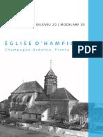 Digitizarea Patrimoniului Construit Scanare Laser Releveu Hampigny