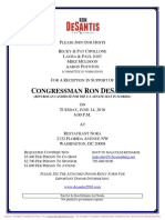 Reception for Ron DeSantis