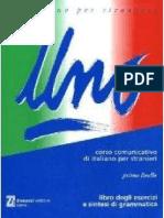 82682538 Uno Corso Di Italiano Per Stranieri Esercizi Sintesi Di A