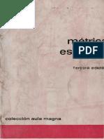 Quilis, Antonio - Metrica Española
